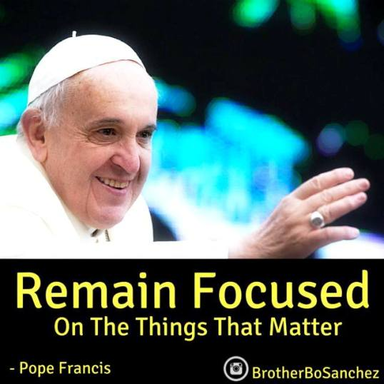 My Pope Francis Reflection