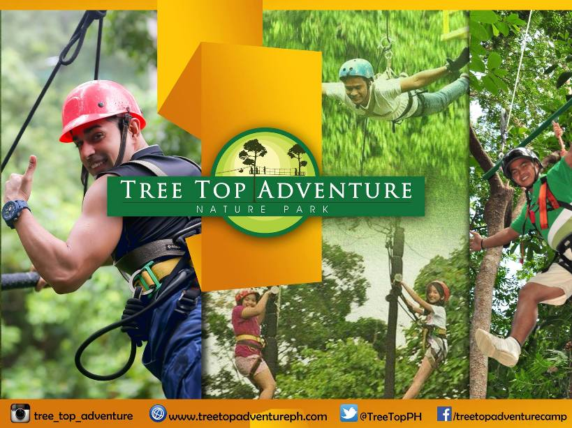Exciting Tree Top Adventure in Subic