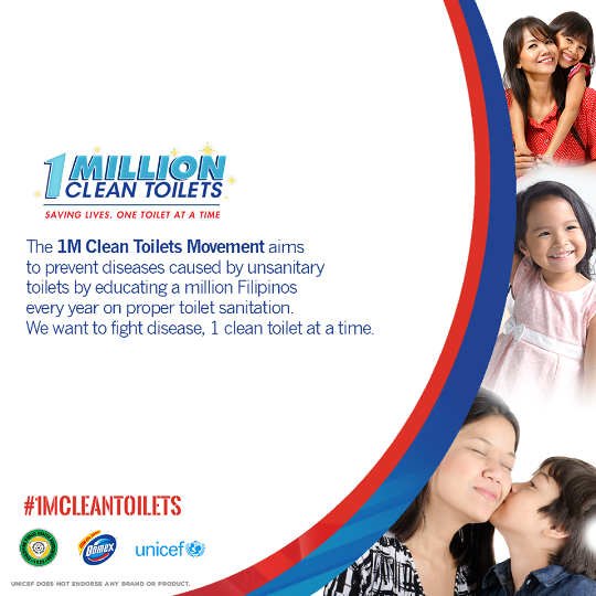 I Am Joining the 1M Clean Toilets Movement