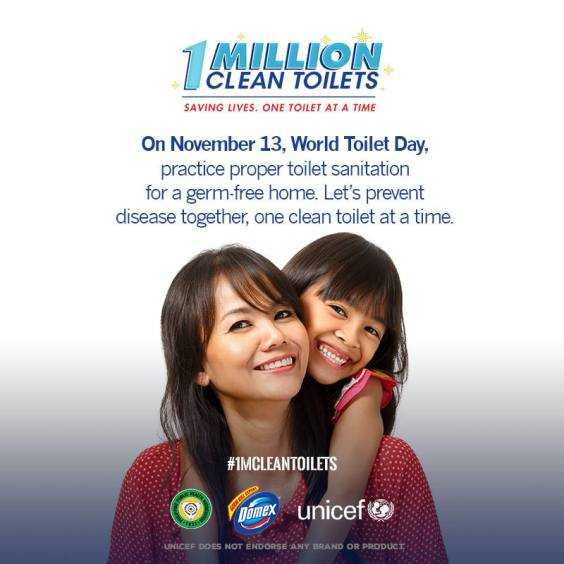 Join Me For the 1M Clean Toilets Movement