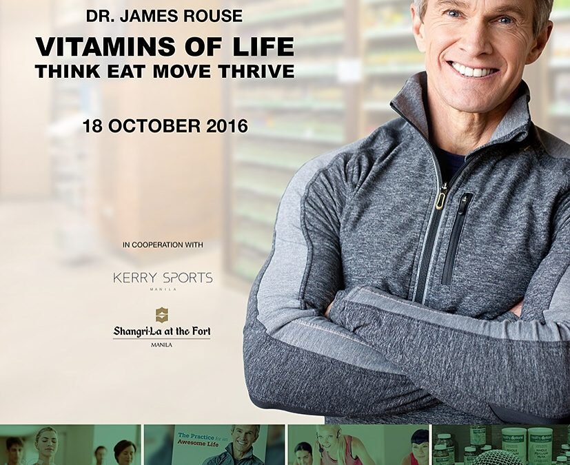 Vitamins of Life: Think, Eat, Move, Thrive