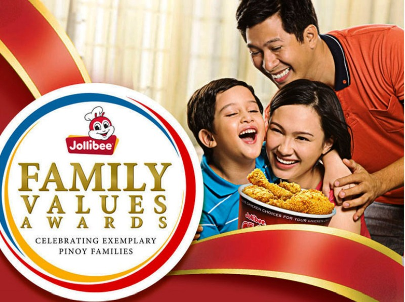 Jollibee Family Values Awards 2017 15 New Finalists