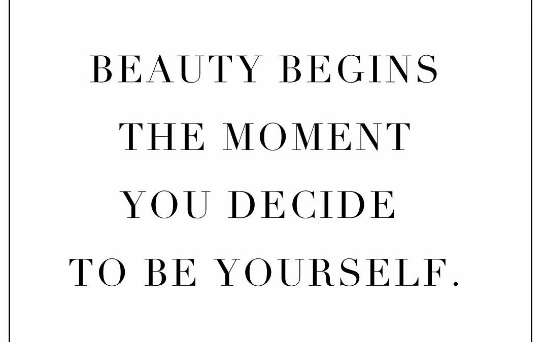 Beauty Begins In You
