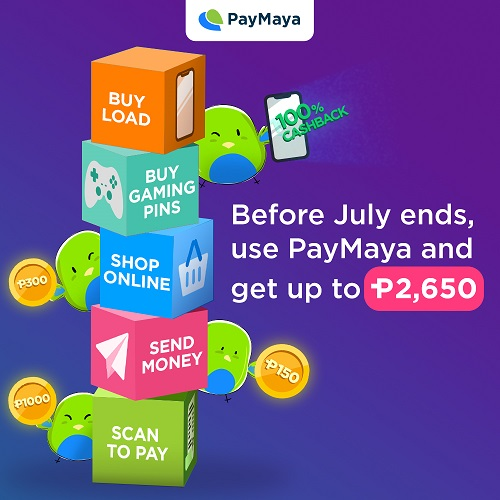 Cashback and More Amazing Perks from PayMaya