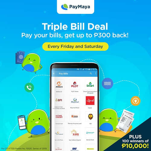 PLDT, Smart, Pag-IBIG, Do it with Paymaya