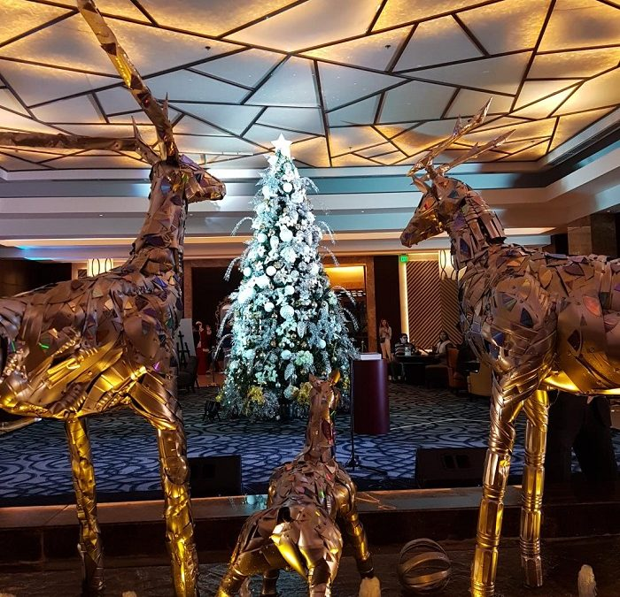 'Shine and Sparkle' Christmas Celebration at Crimson Hotel