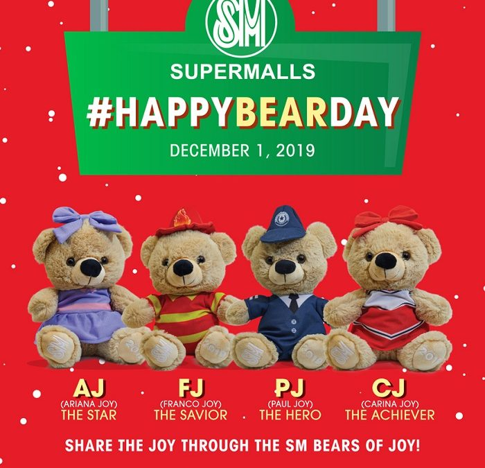#HappyBearDay at SM!